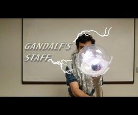 Wizard Staff With GreenPAK & LEDs