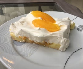 Peach & Vanilla Cake