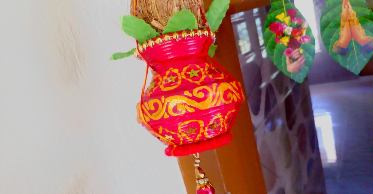 Picture of Kalash(Pot) Decoration