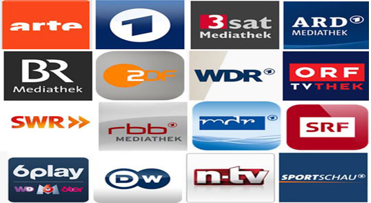 Picture of Download Apps Provided by Foreign TV Channels