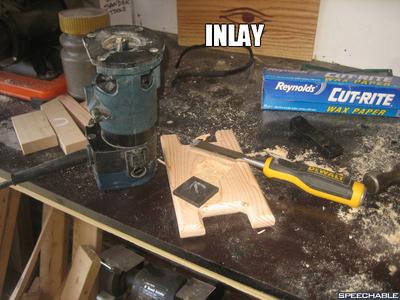 EBONY INLAY