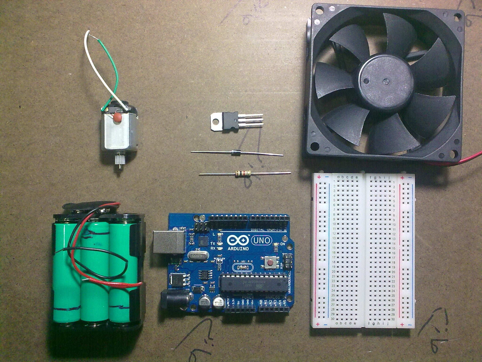 Use Arduino With Tip120 Transistor To Control Motors And High Power Mosfet Current Regulator Limiter Schematic Pcb Alternative Link 5 Devices