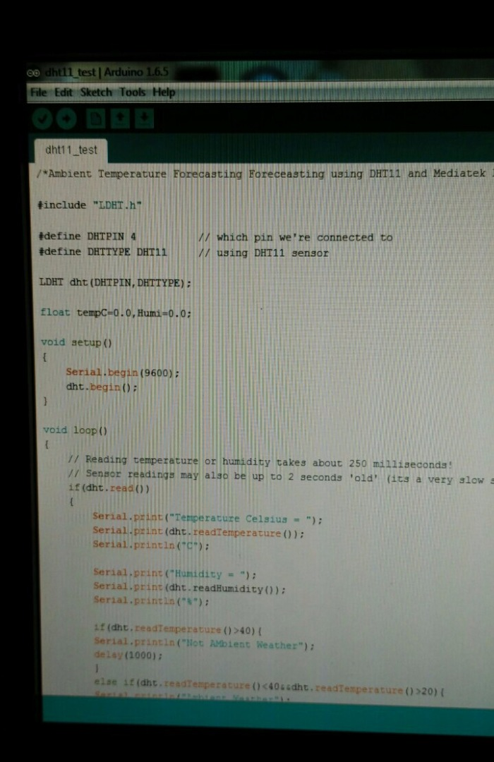 Picture of The Coding Part...