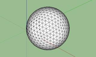 Constructing Geodesic Spheres on Google SketchUp