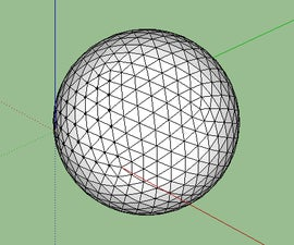 Constructing Geodesic Spheres on Google SketchUp