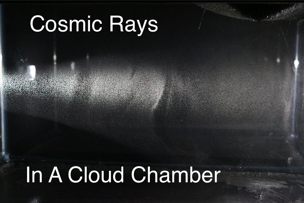 Picture of Detecting Cosmic Rays in a Cloud Chamber