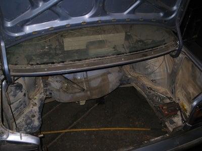 Prep the Honda Trunk Mount