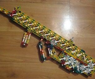 Failed Bullpup Knex Gun