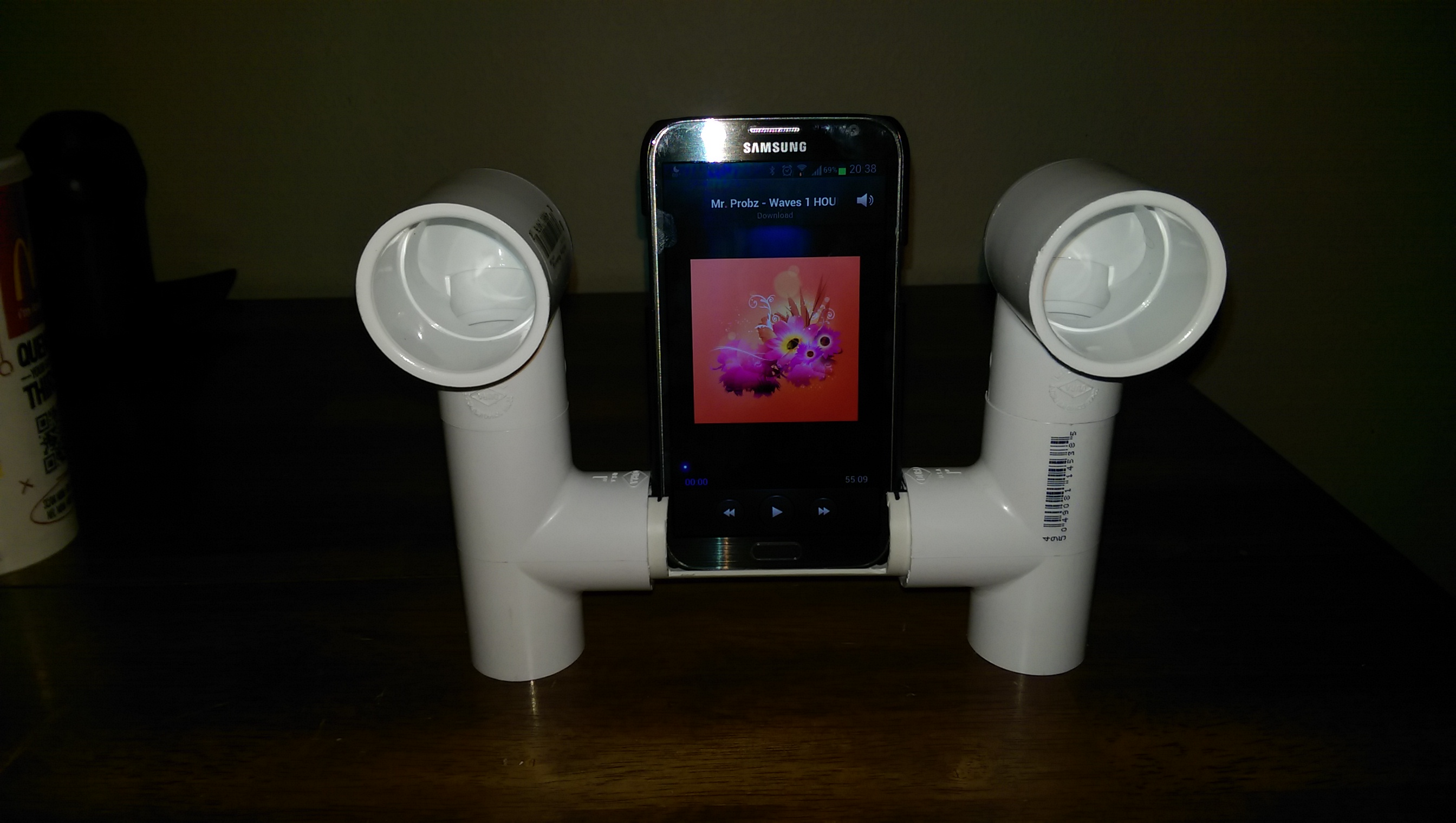 Picture of Smart Phone Passive Amplifier