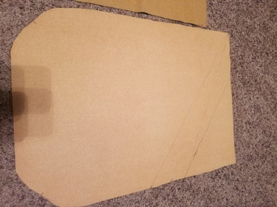 Cutting the Outward Face ( Reference Layer/Vinyl Layer )