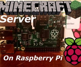 Minecraft Server on Raspberry Pi 1.8.9