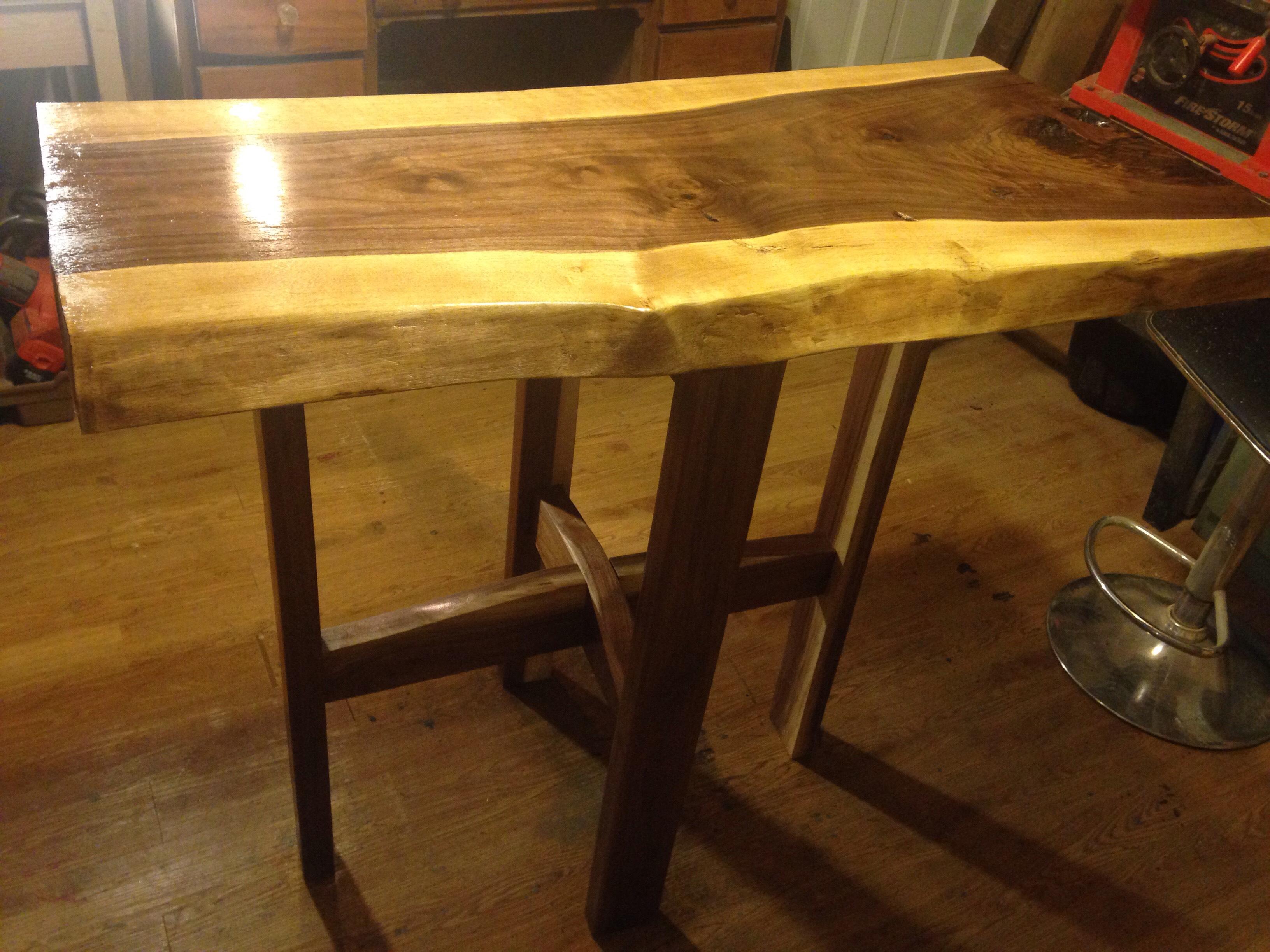 Picture of Walnut Breakfast Table