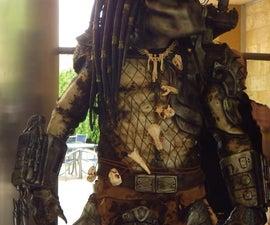 Building a replica Predator costume