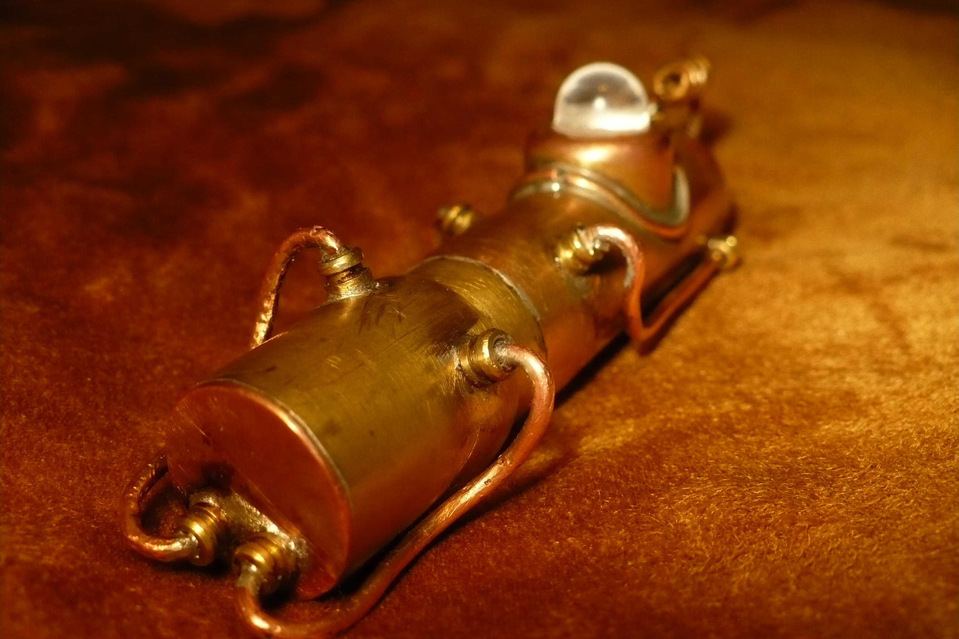 Picture of 4Gb Steampunk USB Flash Drive