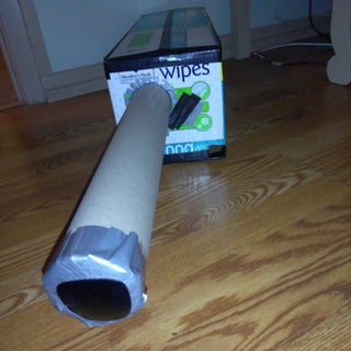 Solar Eclipse Viewer From Reading Glasses and Cardboard