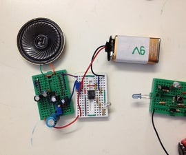 Infrared Based Music Transmitter and Receiver