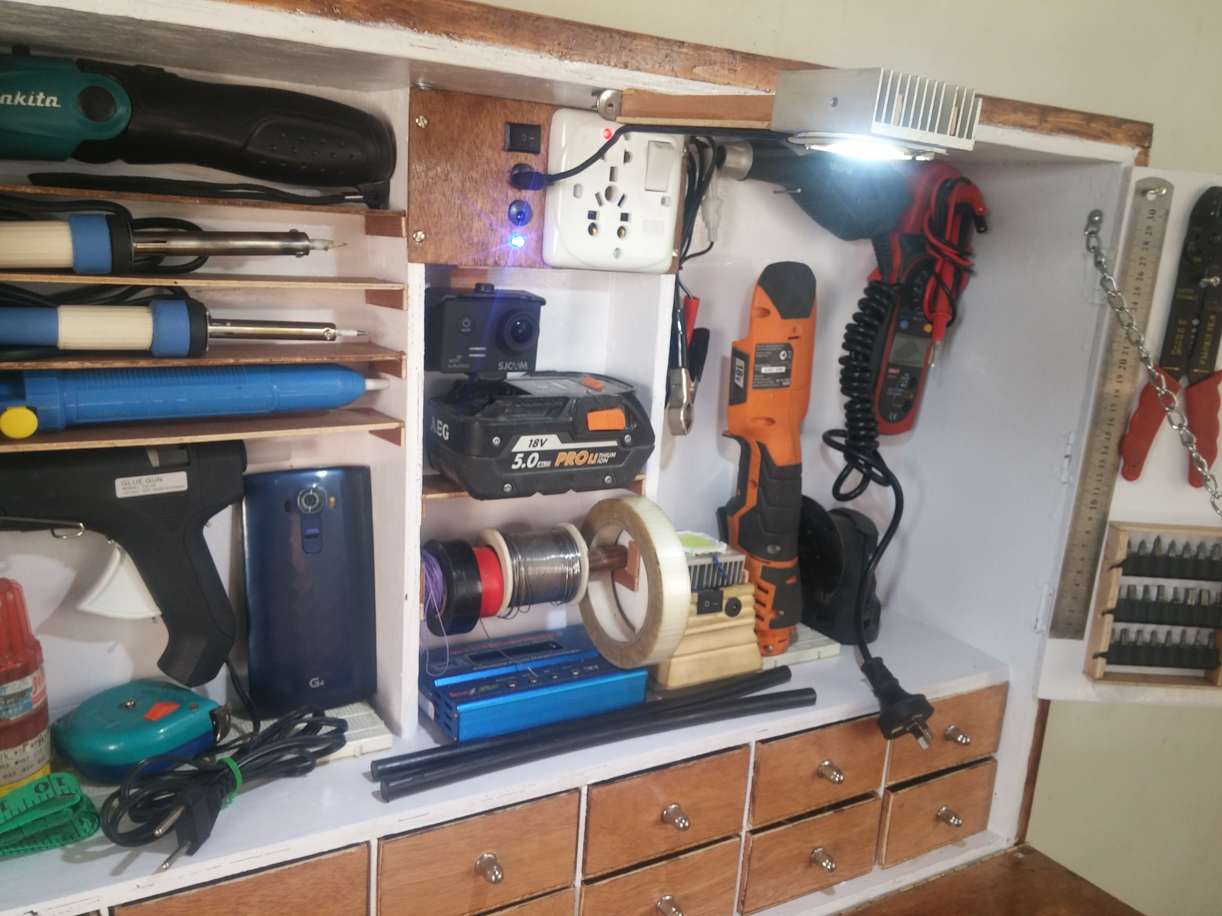 Picture of Putting Everything in Place