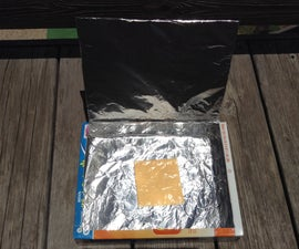Solar Cereal Box Oven