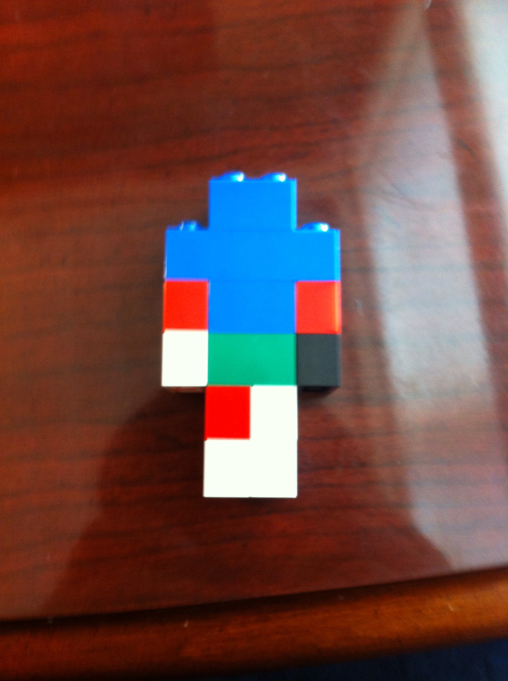 Picture of Lego Minecraft Man