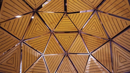 Hang the Panels in the Dome