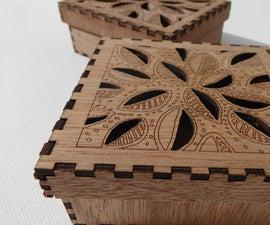 Assembling a Laser Cut Plywood Box