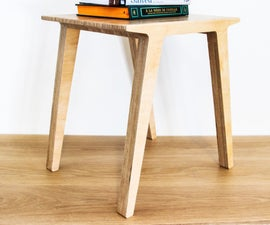 Shopbot + Birch Ply = End Table