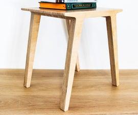 Shopbot + Birch Ply = End Table