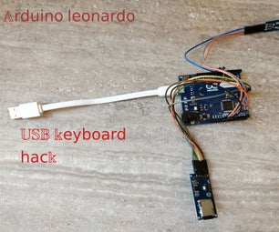 Arduino Keyboard Exploit Demo (HID) and Prevention