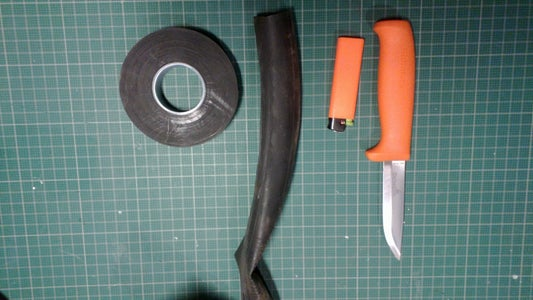 Cheap and Easy Bushcraft Spare/survival Blade.