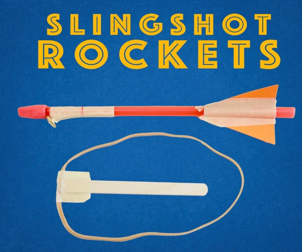 Slingshot Straw Rockets - Engineering Projects for Kids
