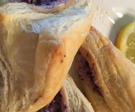 Blueberry Cream Cheese Turnovers