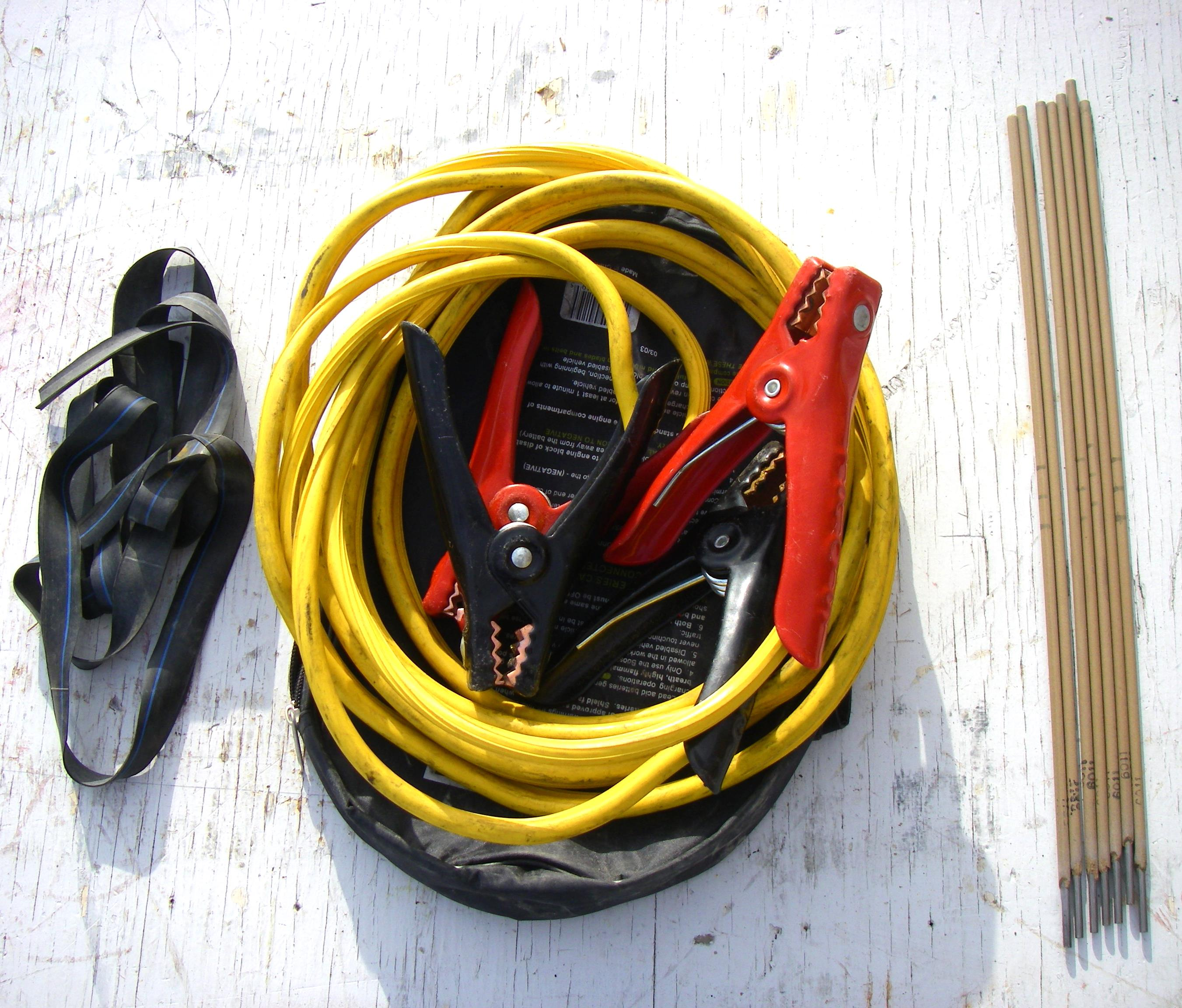 Picture of Cables and Rod