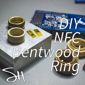 NFC Bentwood Ring