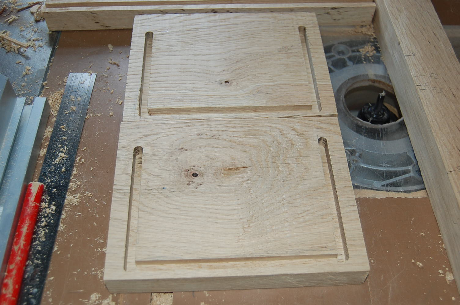 Picture of Router Dados and Mortises
