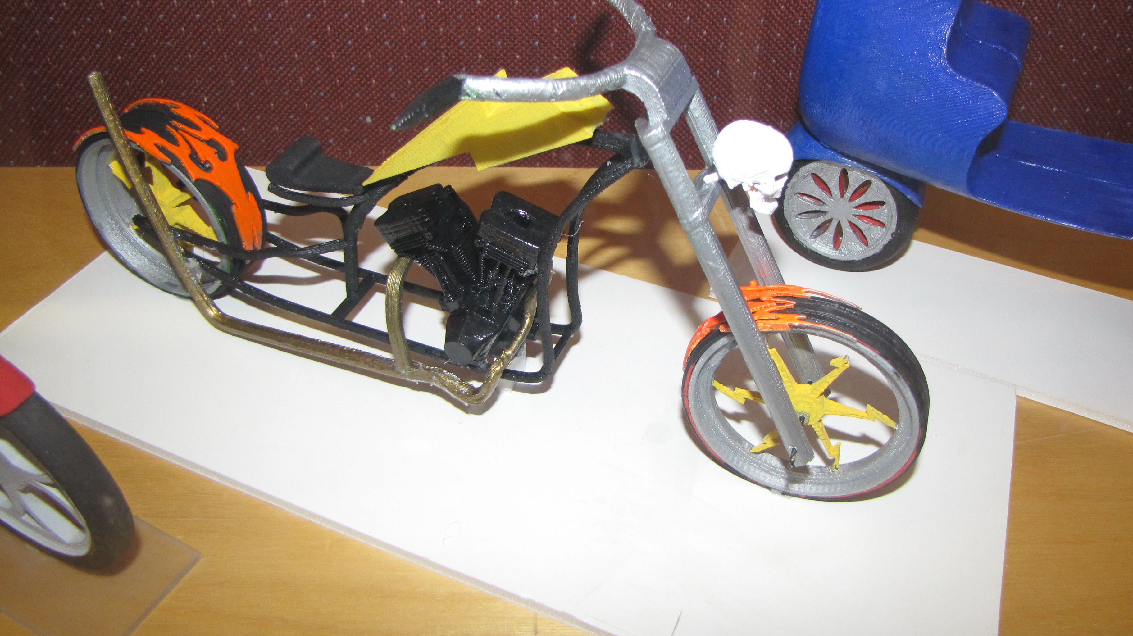 Picture of How to Design and Create a Scale Motorcycle Model