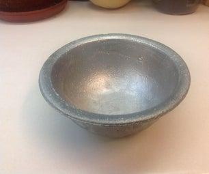 Cast an Aluminum Bowl!