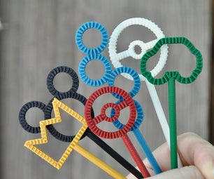 3D Printed Bubble Wands