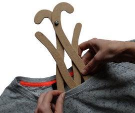 Flatpack Coat Hanger
