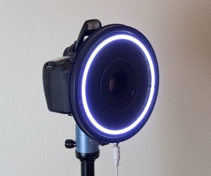 Cookie Can Ring Light
