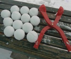 How to make a SNOWBALL machine!
