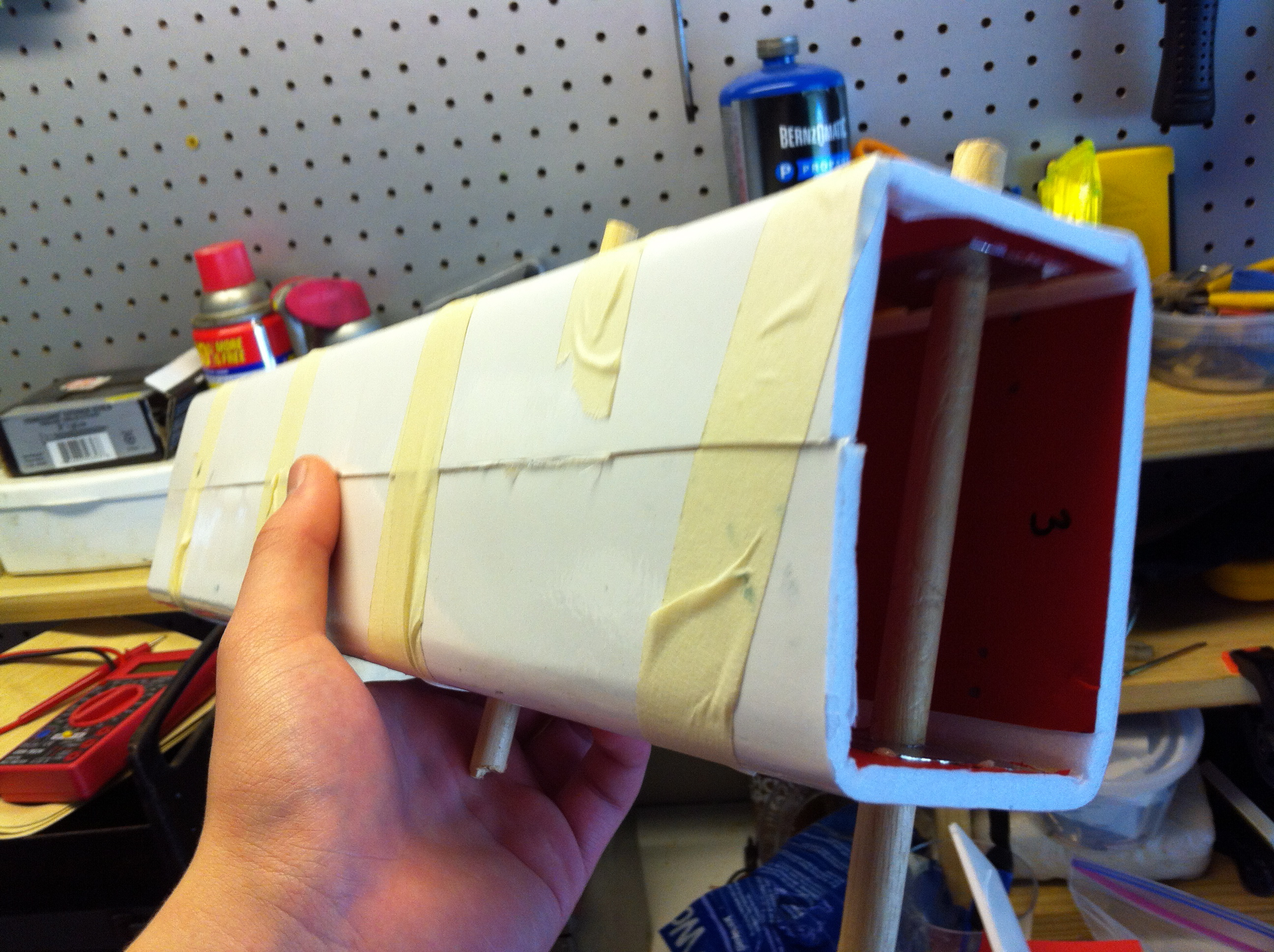 Picture of Step Two: the Body Tube