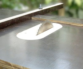 How to make a table saw (Video)