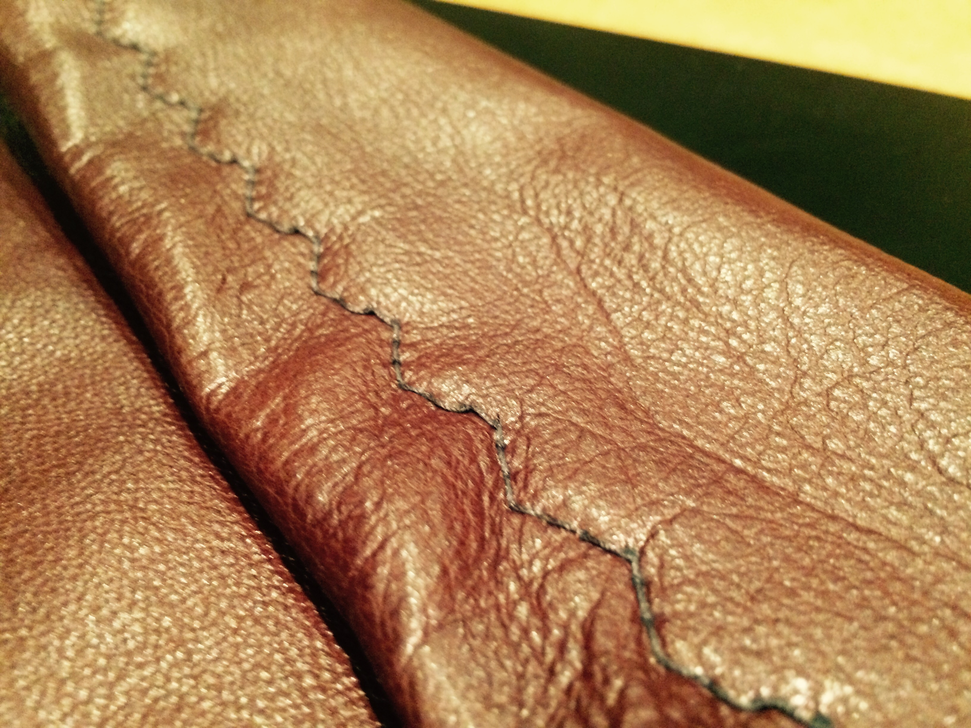 Picture of Leather Laptop Envelope