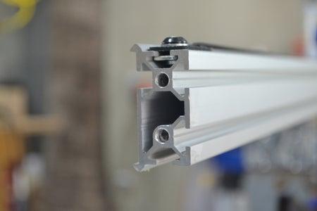 Como Hacerle La Rosca a Un Perfil De Aluminio