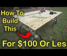 Make a Portable Workbench for $100