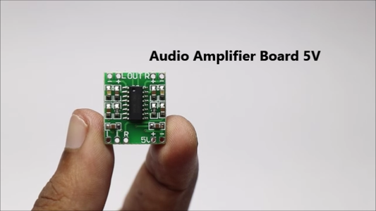 Audio Amplification