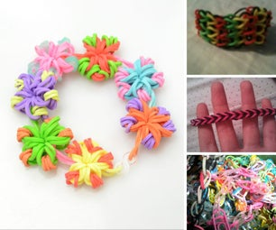 Great Rubber Band Bracelet Tutorials for Be Ginners