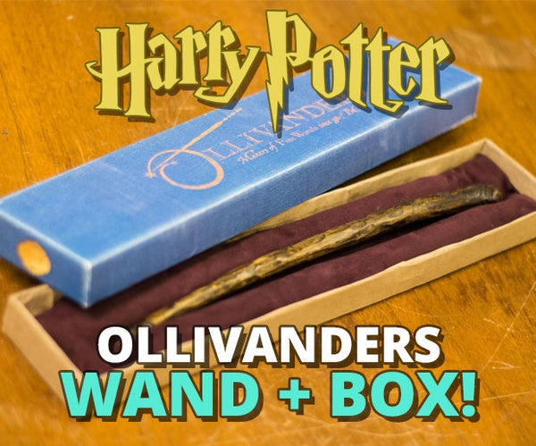 Wand and Wand Box!
