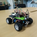 EAL - RC Car With Ultrasound, Magnetic Compass and Bluetooth Control