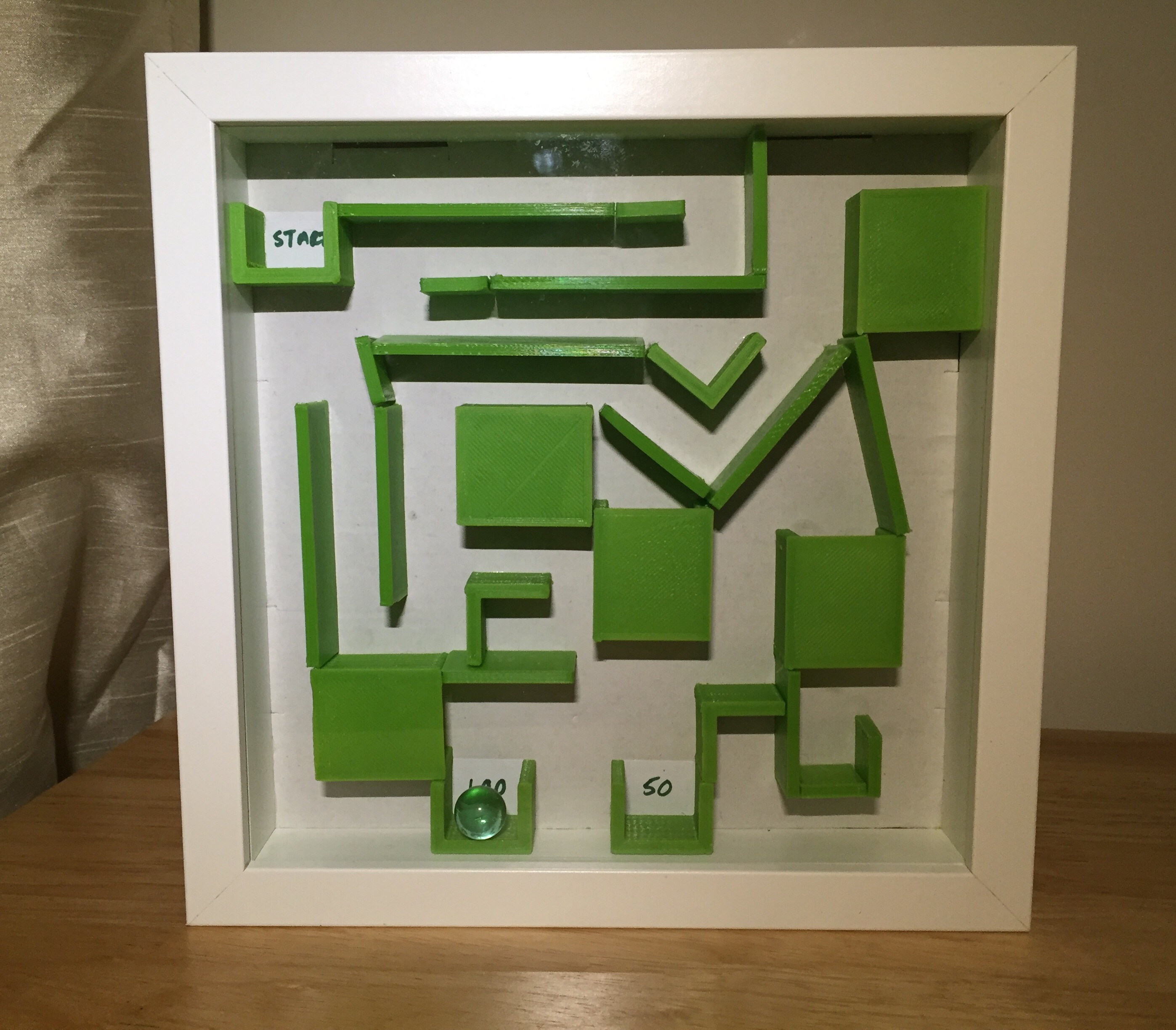 Picture of 3D Printed Marble Maze